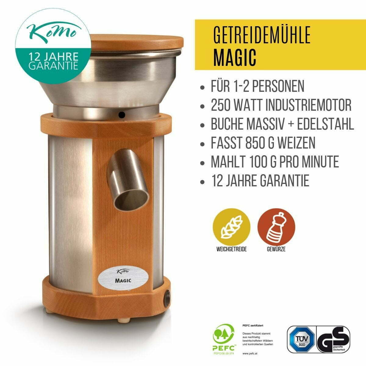 Getreidemühle Magic