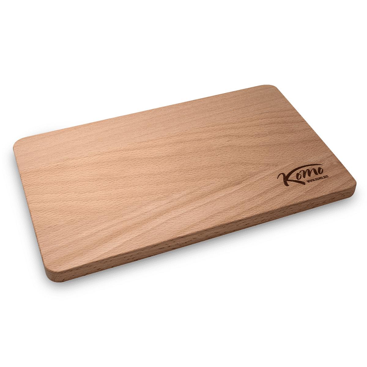 Optional: Holz-Schneidebrett für NUR 5 € Aufpreis