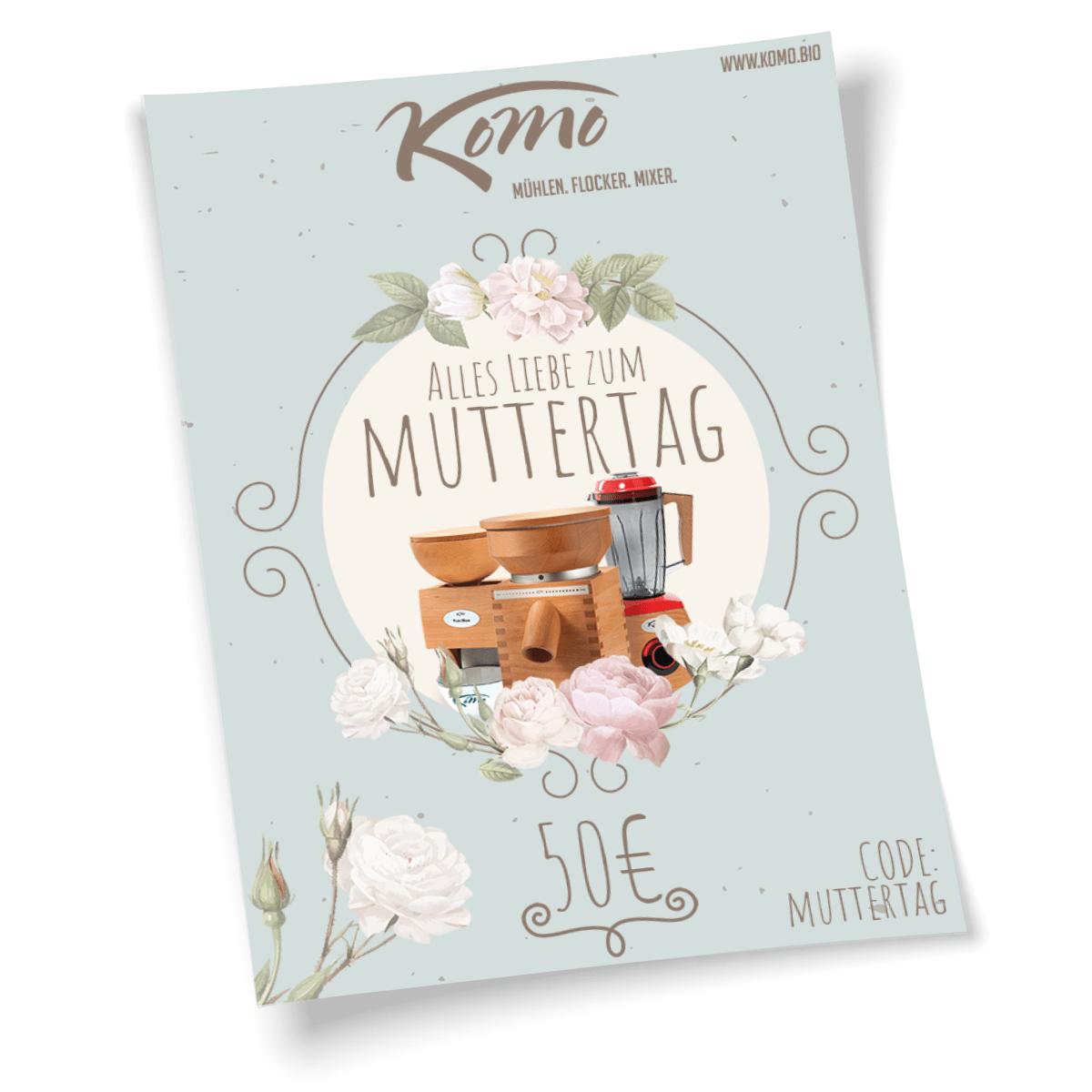 KoMo – Gutschein zum Ausdrucken – Muttertag