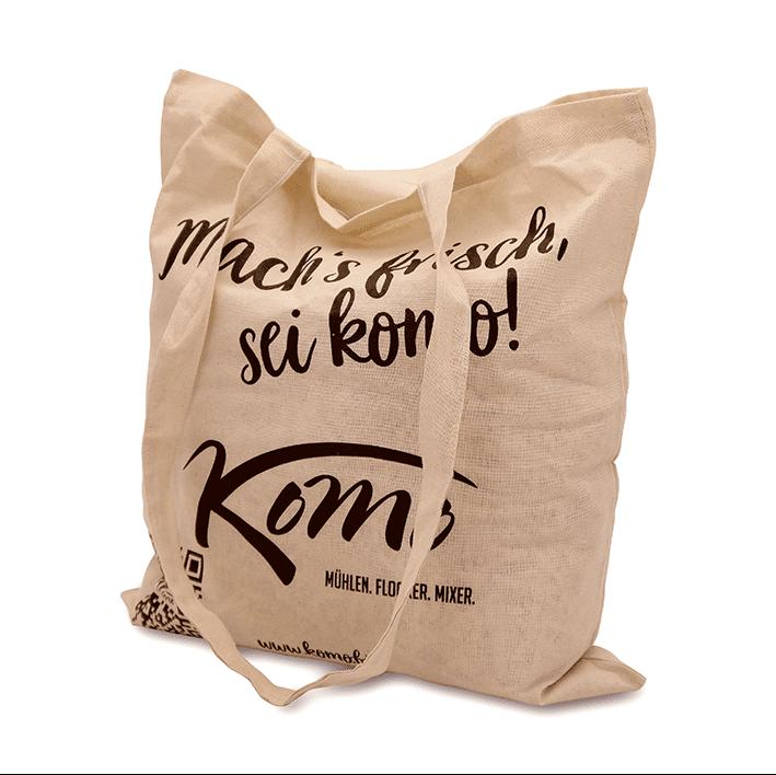 Optional: KoMo Stofftasche für NUR 5 € Aufpreis